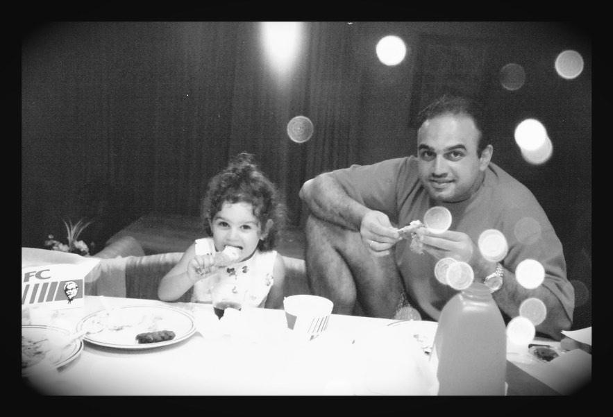 Baba et moi